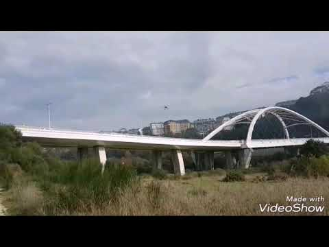 Los drones de Fomento inspeccionan el puente blanco de Lugo