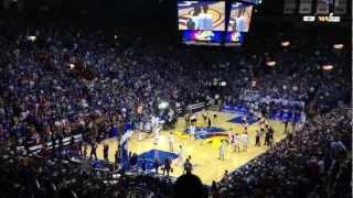 Kansas Jayhawks Pre-game video. Allen Fieldhouse gets LOUD! thumbnail