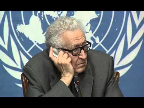 Syria \\   Lakhdar Brahimi,    Press Conference (Geneva, 24 January 2014)