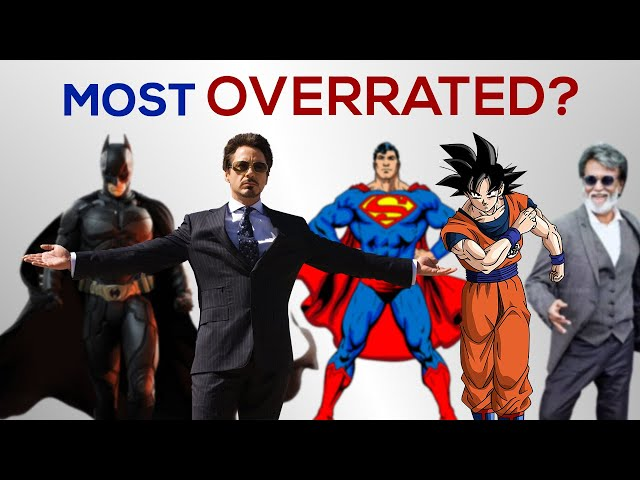 MOST OVERRATED CHARACTERS RANKED!