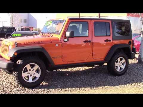 2012 Jeep Wrangler Unlimited Rubicon 4x4  | (303) 513-1807 | Denver | For Sale | Littleton | 80123