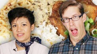 Americans Try Vietnamese Street Food
