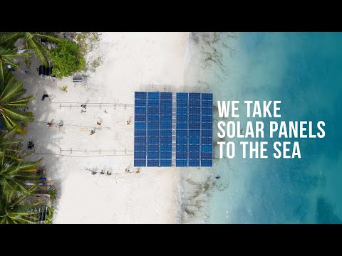 SolarSea by Swimsol - commercial offshore FPV system