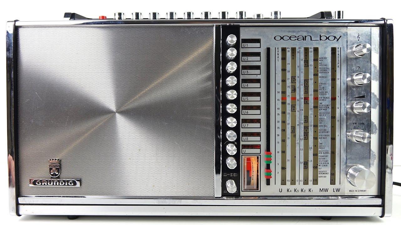 Design Classic: Grundig Ocean Boy 210 Radio - YouTube