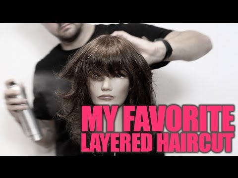How To Cut Layered Haircut Step By Step