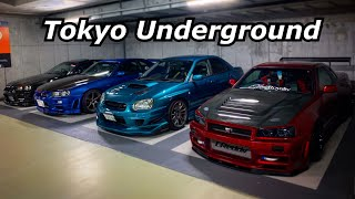 JDM photo shoots with Skyline R34 group!  Akihabara UDX *Akiba Car Culture