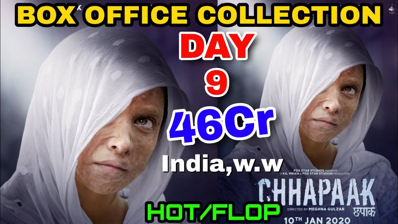 Chhapaak movie Box office collection day 9   Hit Or Flop ...