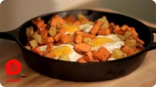 How To Make Sweet Potato Hash | That's Fresh With Helen Cavallo | Babble