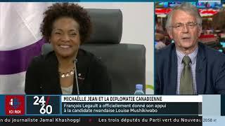 [24|60] Michaëlle Jean et la diplomatie canadienne