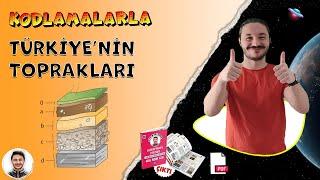Türkiye toprak tipleri 🌎 10.sınıf coğrafya Türkiye Toprak haritası konu anlatımı TYT YKS 2022