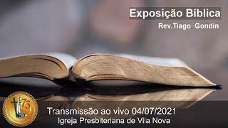 Exposição Bíblica - Culto