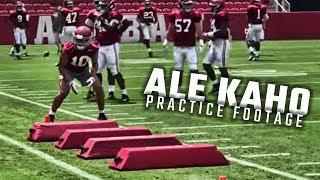 5-star linebacker Ale Kaho makes Alabama practice debut