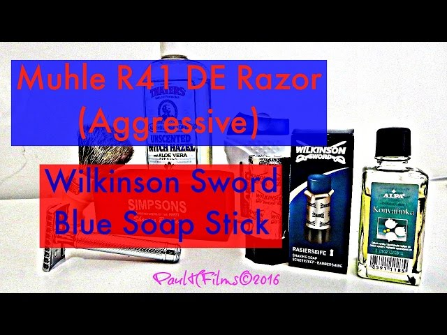 Mulhe R41 |  Wilkinson Sword Soap  (Blue)