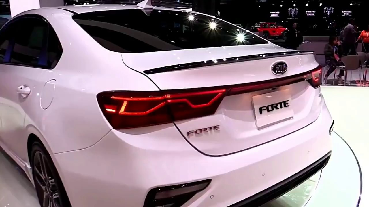 2019 KIA Forte Mods FullSys Features | New Design Exterior ...