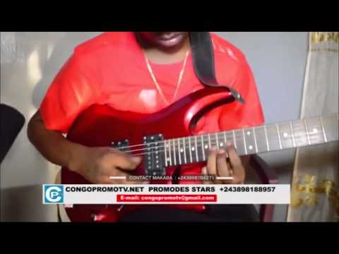 Soukous Guitar from Congo - Makaba Bikorino Arc en Ciel - at congopromotv