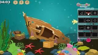 Hướng dẫn chơi game Giải thoát cá vàng - Locked Cafe Escape trên Game Vui