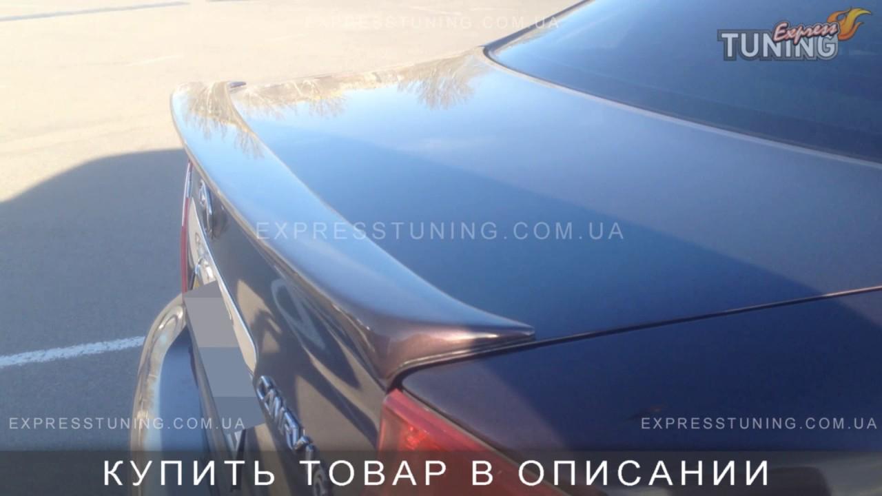 Спойлер Тойота Камри 30. Спойлер на багажник Toyota Camry V30. AOM Tuning. Тюнинг запчасти. Обзор.