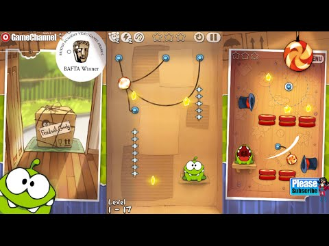 Cut The Rope FULL FREE  Android İos Free Game GAMEPLAY VİDEO