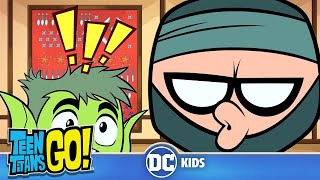 Teen Titans Go! | Titan Ninja Training | DC Kids
