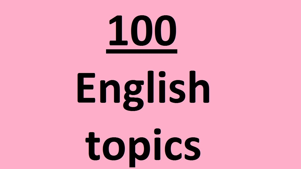 english topics on different subjects for english conversation  youtube premium