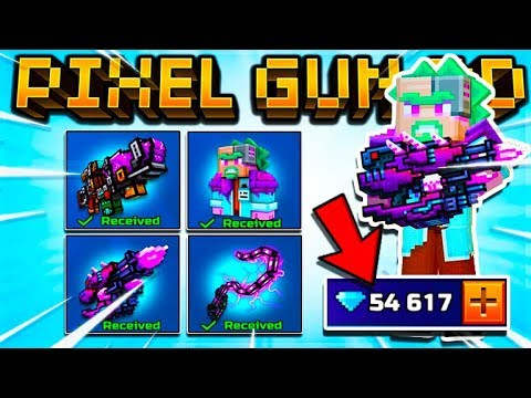 I SPENT 10,000 GEMS ON THE PORTALIUS EVENT SET WEAPONS! | Pixel Gun 3D