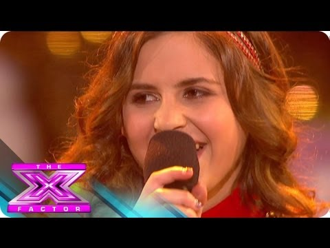Carly Rose Sonenclar's Holiday Song - THE X FACTOR USA 2012