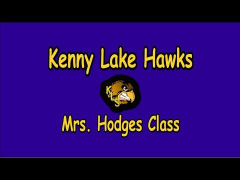 Kenny Lake School - Kenny Lake Alaska - Mrs. Hodges Class