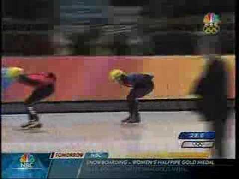 2006 Winter Olympics Short Track Speedskating 1500M B Final