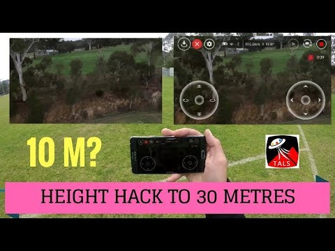 DJI TELLO - MAX HEIGHT HACKED TO 30m - FULL REVIEW of FEATURES
