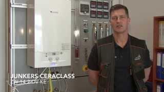 Junkers Ceraclass ZW 14 2 DV KE Uruchomienie