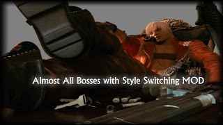 Devil May Cry 3 SE Almost All Bosses with Style Switching MOD (DMD / No Damage)