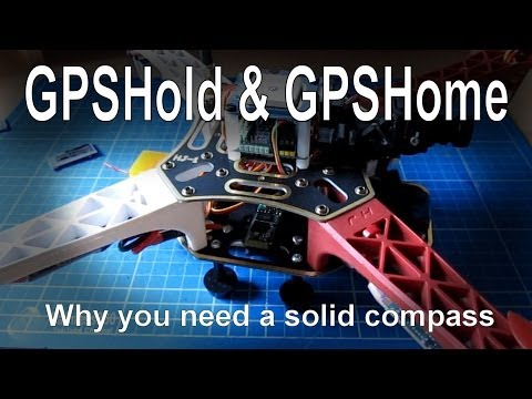 GPShold and GPSHome functions need an accurate magnetometer (compass)