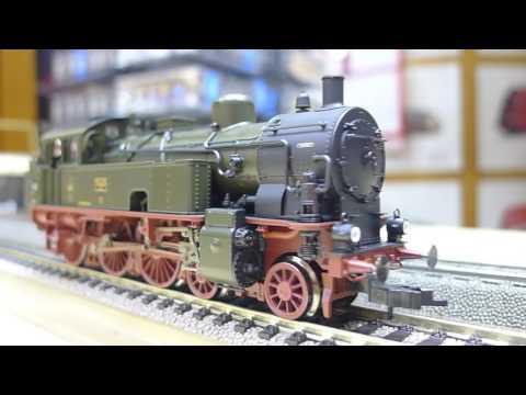 Fleischmann T10 tank locomotive / T10 側水櫃蒸汽機車