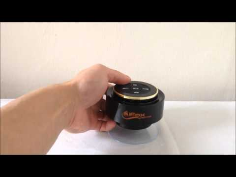 iFox Creations Bluetooth Shower Speaker Review