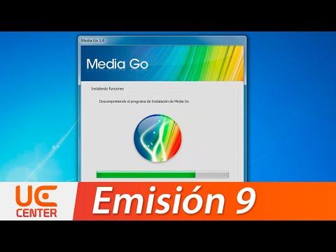 UE9 Tutorial Sony MediaGO (Convercion, Transferencia, Track ID PC, MusicID, SensMe)