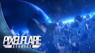 Space Asteroid Field Animation - Pixelflare Studios