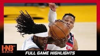 Washington Wizards vs LA Lakers 2.22.21 | Full Highlights