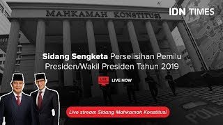 Download LIVE STREAMING - SIDANG KETIGA SENGKETA PERSELISIHAN HASIL PEMILU 2019 Mp3 and Videos