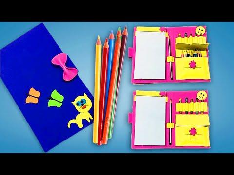 Organizer diy ideas   How to make Folder organizer   back to school