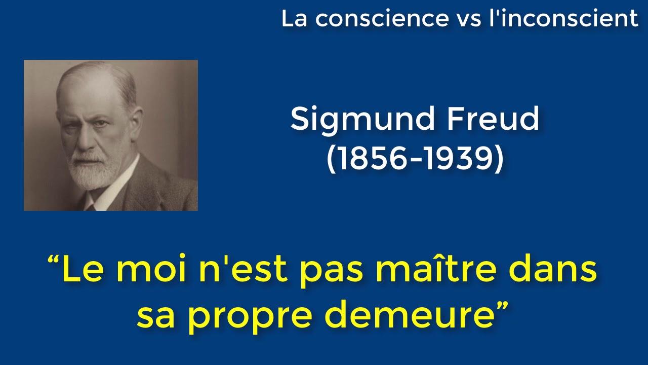 Dissertation philo conscience et inconscience