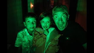 We Played SARDINES AT NIGHT in the DARK in our NEW HOUSE!