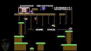 Donkey Kong Jr. (NES Classic Playthrough)