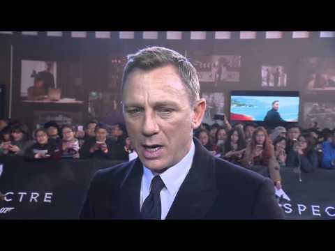 Spectre China Premiere Interview - Daniel Craig