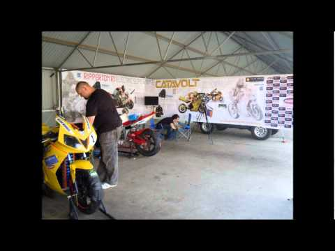TTXGP / eFXC Electric superbike racing. Round 1 at Wakefield Park, NSW, Ausralia