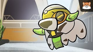 Appearance of ORISA / OverWatch Animation