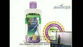 AIM GLOBAL New Product   Naturacentials All Natural Feminine Wash Low