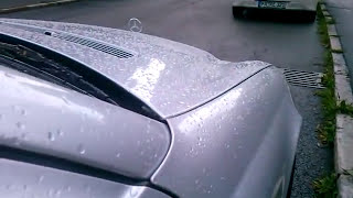 Mercedes benz c200k W203 rost problem gelöst/behoben