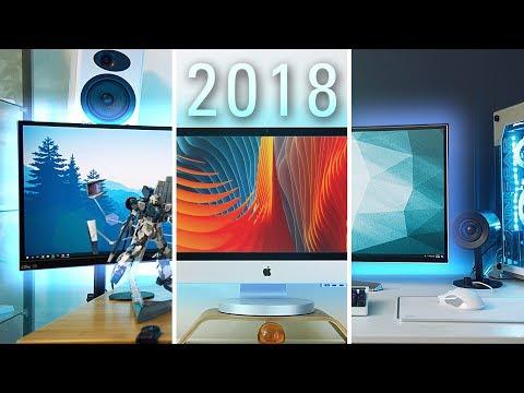 My FULL Office & Desk Setup Tour 2018!