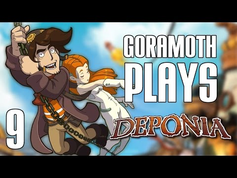 Of Codes and Post Offices // Let's Stream: Deponia: The Complete Journey [Part 9]  