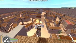 roblox attack on titan part 1